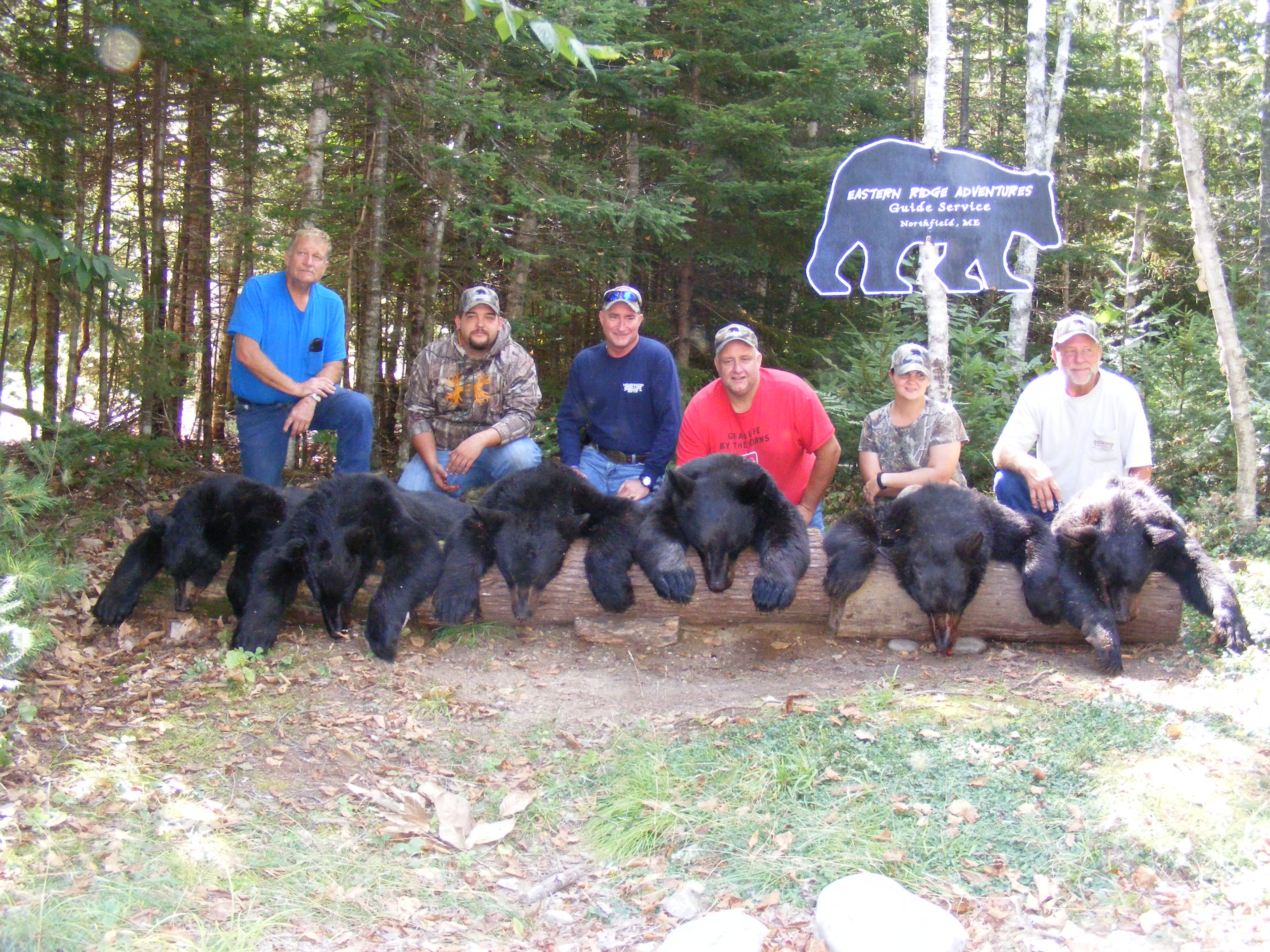 Fall black bear hunts in maine fully guided lakeside lodging for Maine non resident fishing license